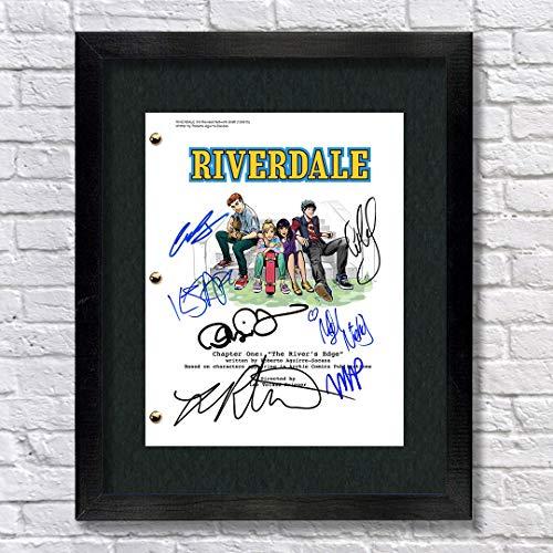 Riverdale TV Show Archie Cast Autographed Signed Reprint...