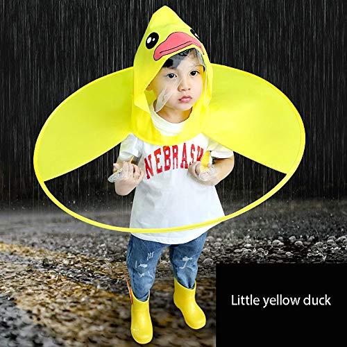 PATRICK Regenbekleidung Kinder Baby Faltbar Wasserdicht Regenjacke Regenschirm mit Kapuze Kinderregenmantel Stylische Günstig Durchsichtig Regen Windjacke Regencape Umhang