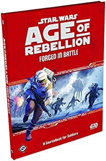 Star Wars Age of Rebellion RPG Forged in Battle: A Sourcebook for Soldiers Role Playing Game