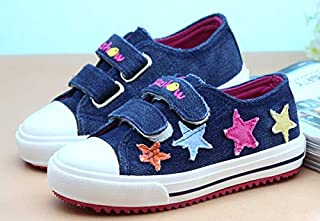SandQ baby Navy Blue Canvas Shoe with Star