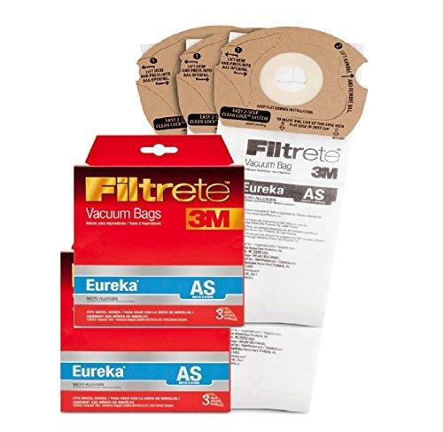Filtrete 67726 Eureka AS Vacuum Bags (3-Pack)-- (Package Of 6)