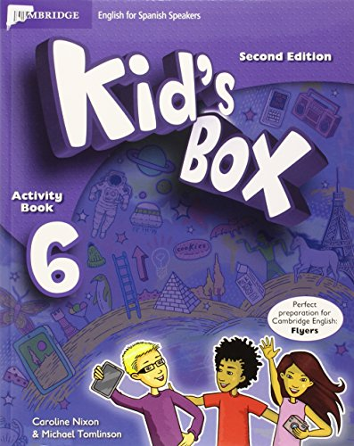 Kid's Box for Spanish Speakers Level 6 Activity Book with CD ROM and My Home Booklet Second Edition - 9788490367643