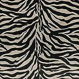 Furnishing Fabrics Zebra Polsterstoff – weiches Velours,