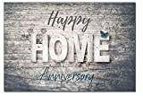 25 Happy Home Anniversary Realtor Chalk Cards, Bulk Real State Thank You Notes, Blank Greeting Home Postcards,Realtor Gifts Welcome Home Cards Vintage