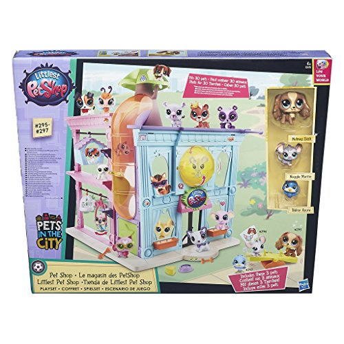 Littlest Pet Shop - Kit La tienda de mascotas (Hasbro B7322EU4)