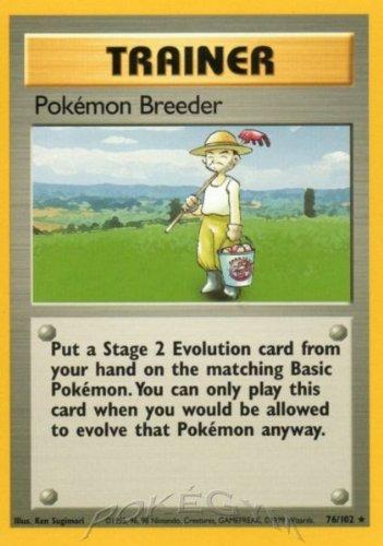 Pokemon Breeder - Basic - 76 [Toy]