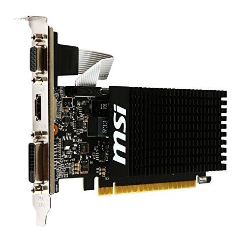 『MSI GeForce GT710 GDDR3 1GB グラフィックスボード VD5932』の3枚目の画像