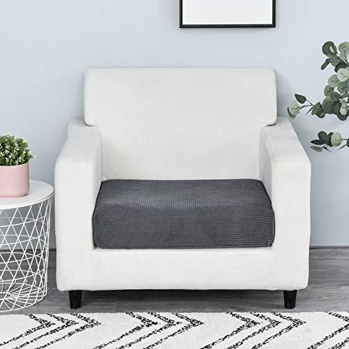 Funiture Protector Jacquard Dicker Sofabezug Ecksofasitzbezug Elastischer einfarbiger Couchbezug Elastisches Material