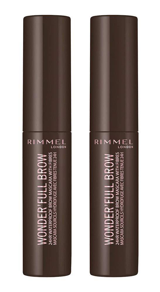 Rimmel wonder'full Excellence brow mascara dark brown Japan's largest assortment of 0.17 2 Fl pack