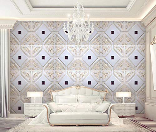 Photo Wallpaper High-Grade Leather Embossed Soft Bag Living Room Tv Sofa Bedside Background Wall Painting Large Wall Mural Series Wallpaper for Living Room Wall Art Wall Decor Home Decor