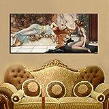 Poster und Drucke Wandkunst Leinwand Malerei Unheil Und