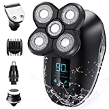 Electric Shaver for Men, OriHea 5 in 1 Head Shavers for Bald Men Electric Rotary Razor Beard Trimmer...