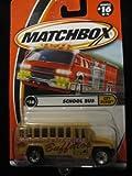 School Bus Matchbox City Dudes Series #16