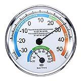 Thermomètre Hygromètre Météo pour Intérieur Extérieur Bureaux Laboratoires
