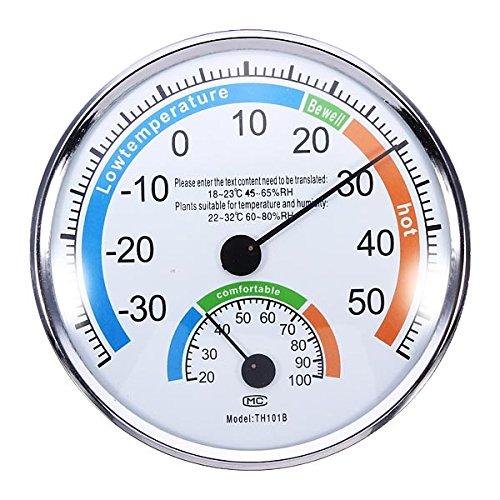 ILS - Thermometer Hygrometer Weermeter voor Indoor Outdoor Kantoren Laboratorium