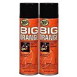 Zep Big Orange Citrus Degreaser 011401 15 Oz Aerosol (Pack of 2) Industrial Strength