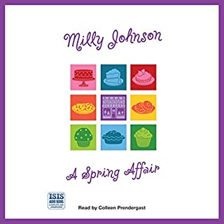 A Spring Affair                   By:                                                                                                                                 Milly Johnson                               Narrated by:                                                                                                                                 Colleen Prendergast                      Length: 12 hrs and 26 mins     244 ratings     Overall 4.6