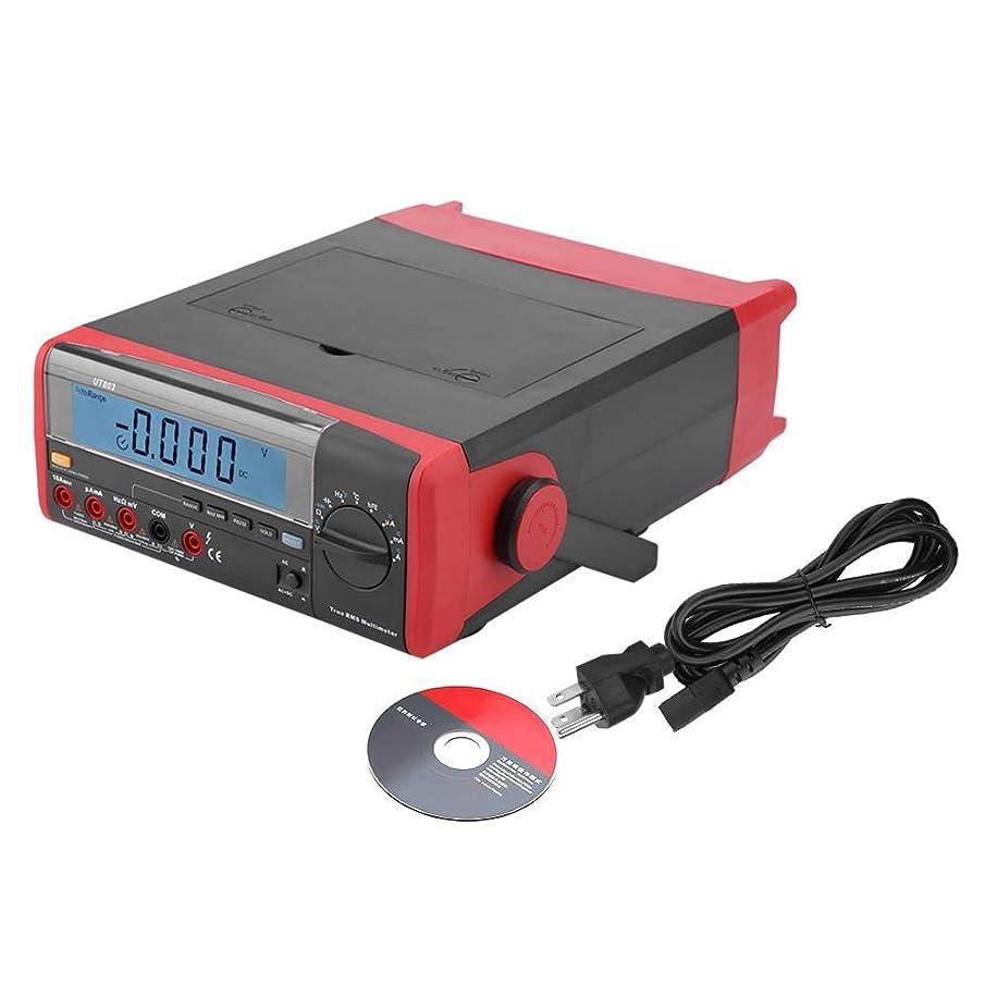 回答人物みぞれデスクトップデジタルマルチメータ、UT803デスクトップLCDディスプレイデジタルマルチメータ温度計5999カウント(US Plug 110V)