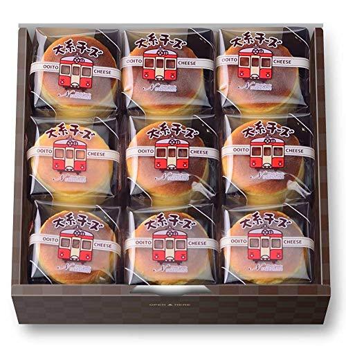新潟スイーツ・ナカシマ:大糸チーズ(9個入) -クール冷凍-
