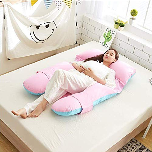Maternity Full Body Nursing Pillow, Body Pillows for Adults...