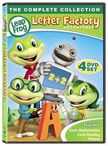 Leap Frog Letter Factory Adventures [DVD] -  LIONSGATE, D50621D