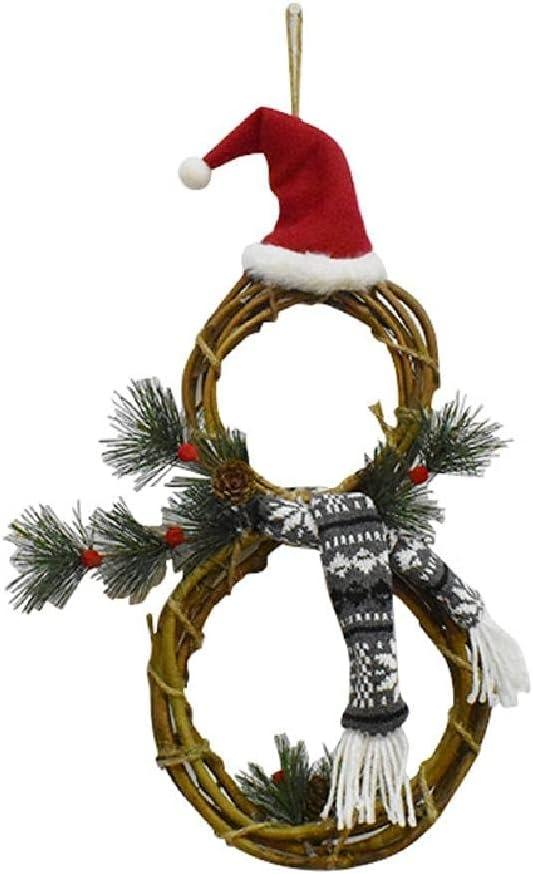 CHBC Lighted Popular popular Christmas Wreath Decoration 21 LED Rattan 8 X Ranking TOP1 Inch