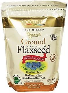 Spectrum Essentials Organic Ground Essential Flaxseed 14 oz. (Pack of 3) by SPECTRUM ESSENTIALS