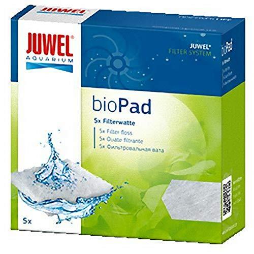 Juwel - Filtro de almohadillas BioPad Poly para acuario pecera (M) (Blanco)