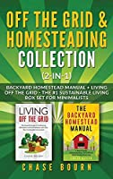 Off the Grid & Homesteading Bundle (2-in-1): Backyard Homestead Manual + Living Off the Grid - The #1 Sustainable Living Box Set for Minimalists