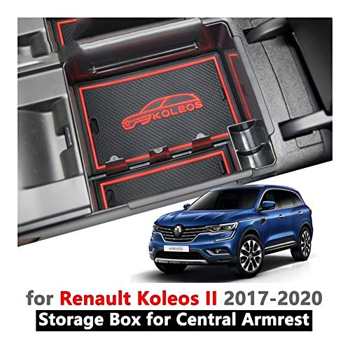 AIRLUCKY armleuning box opslag opbergen voor Renault Koleos 2 Samsung QM6 2017 2018 2019 2020 MK2 Car Organizer interne accessoires Tray