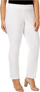 JM Collection Plus Size Tummy-Control Straight-Leg Pants