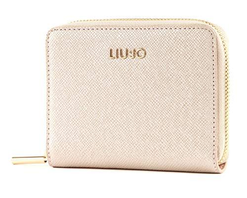 LIU JO Manhattan Zip Around Wallet M Light Gold