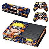 Xbox One Skin Set - Naruto HD Printing Skin Cover Protective for Xbox One Console, Kinect & 2 Controller by Mr Wonderful Skin