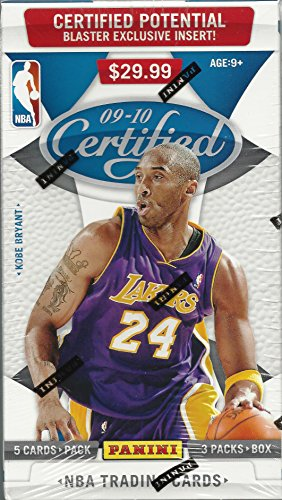 2009-10 Panini Certified NBA Basketball Blaster Box