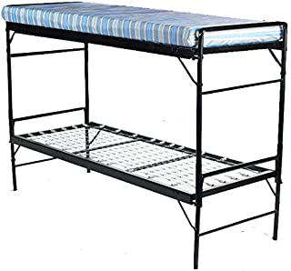 Blantex 2 WWII Army Style Bunkable Beds with 4