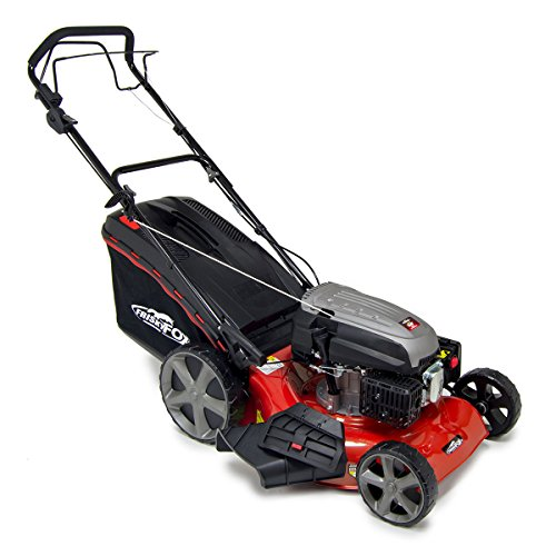 "Frisky Fox PLUS 20"" Petrol Lawn Mower (51cm) - 173cc Self Propelled 4in1 Lawn Striper 50L Grass Bag"