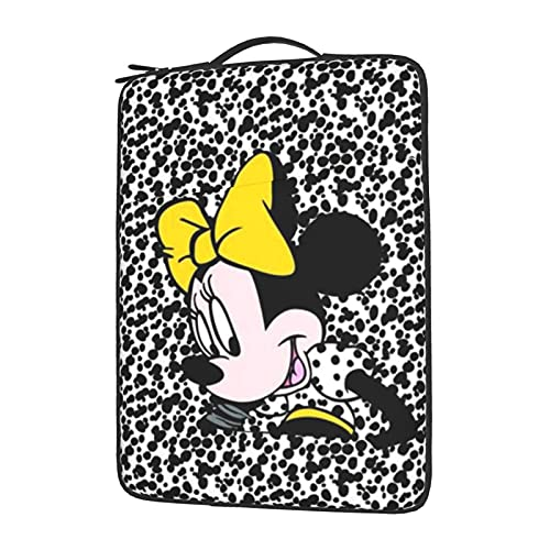 Mickey Minnie Mouse Cartoon Laptop Bag Sleeve Computer Case Tablet Maletín Ultraportable Protector para 13 14 15.6 pulgadas 13 pulgadas