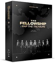 ATEEZ World Tour [The Fellowship : MAP The Treasure Seoul Concert DVD (Incl. Random Transparent Photocard Set)