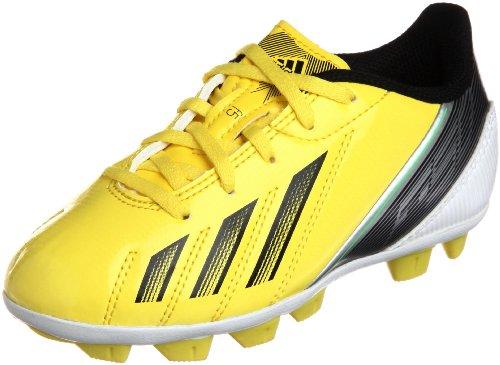 adidas Performance F5 TRX HG J G65442, Jungen Fußballschuhe, Gelb (VIVID YELLOW S13/BLACK 1/GREEN ZEST S13), EU 38  (UK 5)