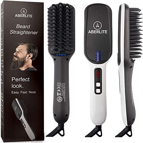 2. Aberlite MAX - Beard Straightener for Men