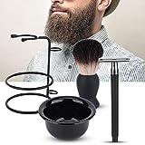 Kit Barba Cuidado, Cepillo Barba - Juego de regalo perfecto para hombres - Hombre Crecimiento, Mejor Regalo Hombre