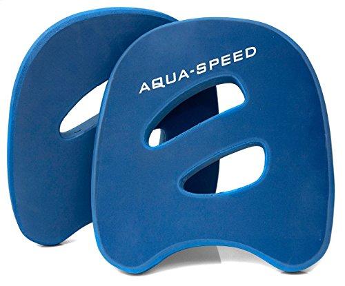 Aqua Speed Aqua Disc Erwachsene I Trainingsscheiben Aerobic Aquagymnastik I Wasser Paddel Training im Pool I Wasserhanteln I Wassergymnastik I Aquafitness I Wasserübungen I Wassersport