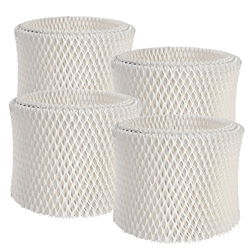 ITidyHome 4-Pack WF2 Replacement Humidifier Filter Extended Life Compatible for Vicks Kaz WF2 Humidifier V3100, V3500, V3500N, V3600, V3700, V3800, V3850, V3850JUV, V3900
