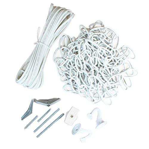 Jandorf 60262 Lighting Swag Kit, White