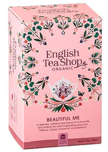 English Tea Shop Kräutertee der Schönheit mit Gotu Kola, Preiselbeeren und Rosenblättern Hergestellt in Sri Lanka Bio-Produkt - 1 x 20 Teebeutel (30 Gramm)