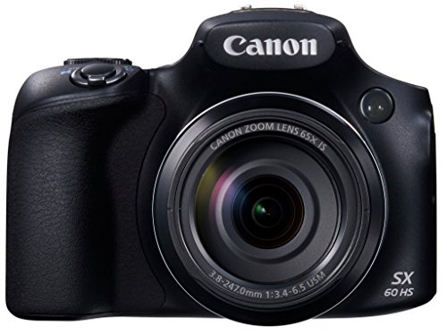 Canon PowerShot SX60 HS Digital Camera - Wi-Fi Enabled - International Version (No...