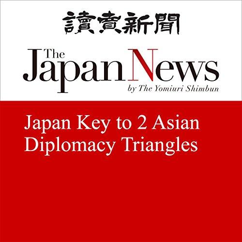 Japan Key to 2 Asian Diplomacy Triangles | Kentaro Nakajima
