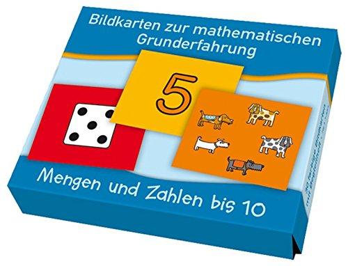 Bildkarten zur mathematischen Grunderfahrung: Mengen und Zahlen bis 10
