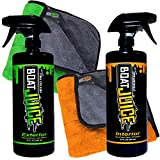 Boat Juice Cleaner Bundle Pack - 32oz Exterior Water Spot Remover Polymer Wax...