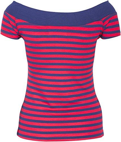 Küstenluder MY ANCHOR Anker Rosen Nautical Sailor CARMEN Shirt Rockabilly - 5